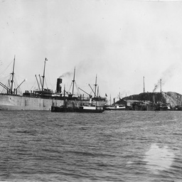 Steam ships at Townsville