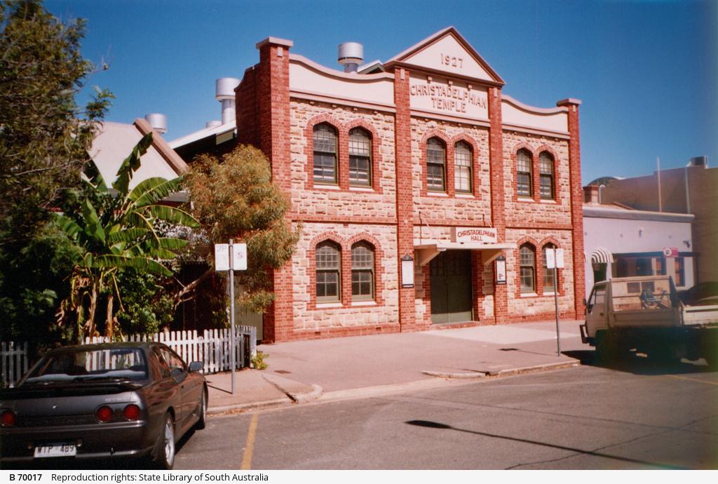 Christadelphian Hall, Adelaide