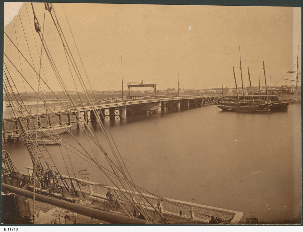 Jervois Bridge, Port Adelaide
