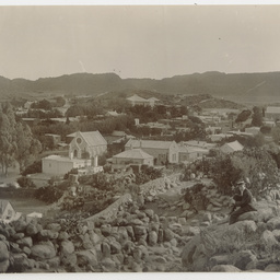 Unidentified South African town