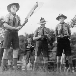 Members of the Hawthorn Scouts