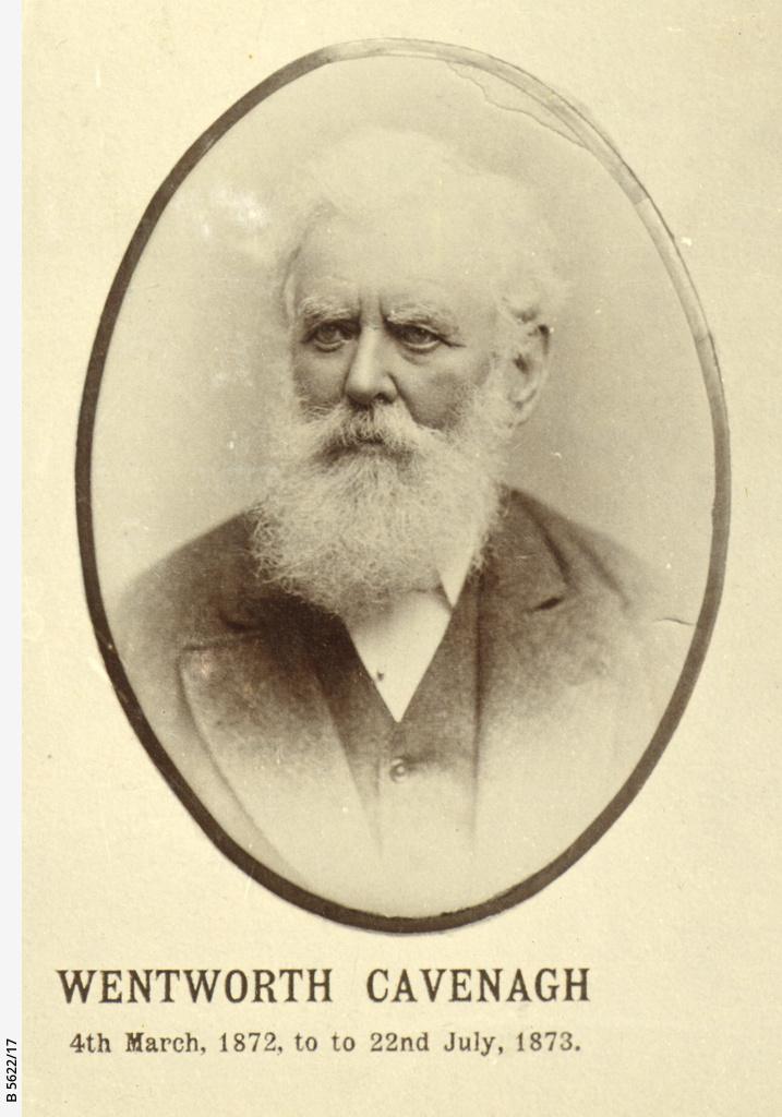 Wentworth Cavenagh
