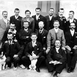 Staff of Eucla Telegraph Station