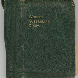 World War I diary of Frederick Leopold Terrell, 1917