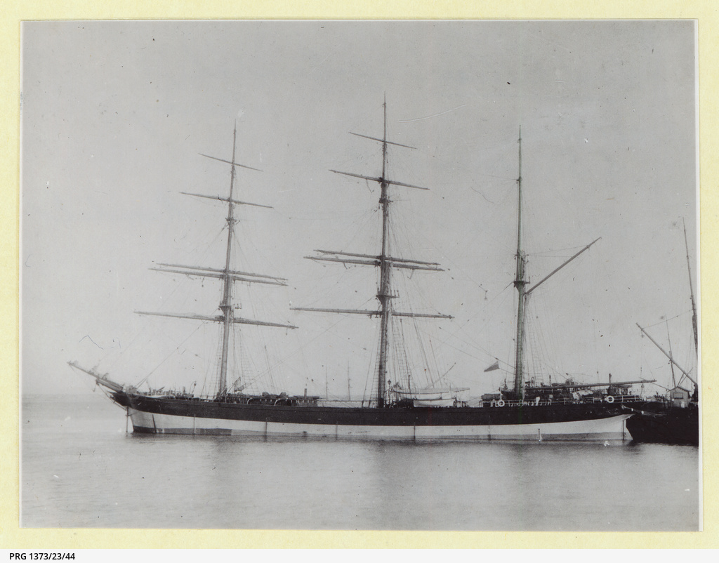 The 'Moel Eilian' at anchor