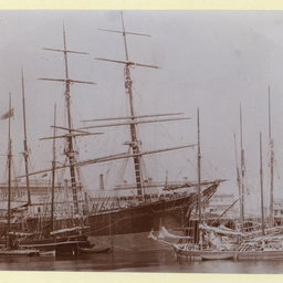 The 'Bolivia' at Port Adelaide