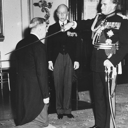 General Sir William Slim and Sir George Coutts Ligertwood