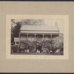 Charles White's house at Fulham