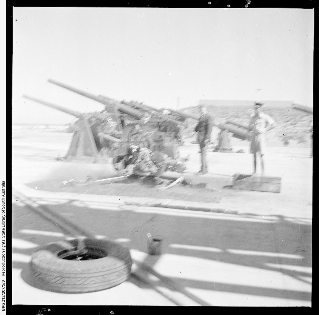 First anti-tank gun being proofed • Photograph • State