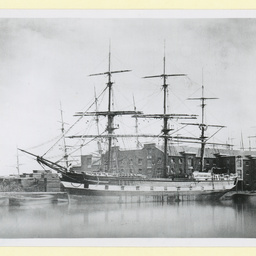 The 'Bury St. Edmunds' at London Docks