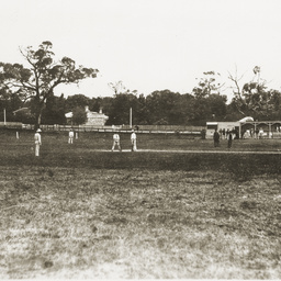 Cricket match at Mount Gambier