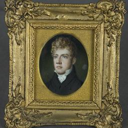 Miniature portrait of Thomas Wilson