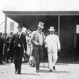 Sir George Le Hunte and Arthur Searcy