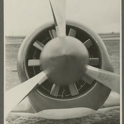 A46 CAC Boomerang propeller.