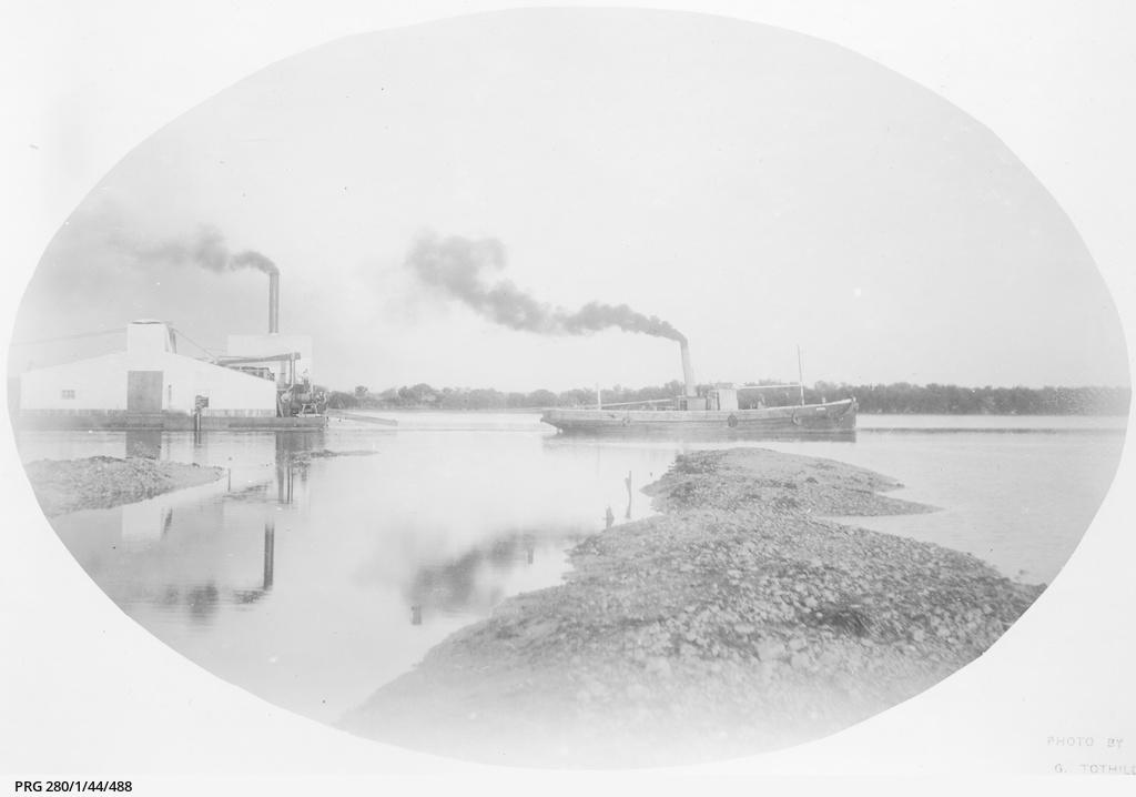 Marine fibre works at Port Broughton