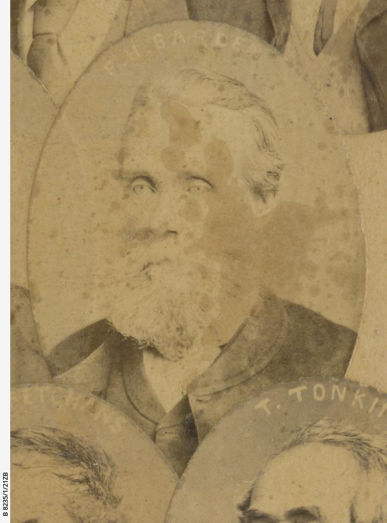Old colonists 1836-1840 : James Henry Barnden
