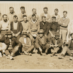 Shearing team at Coopers Creek