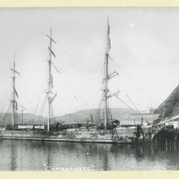 The 'Combermere' at Port Chalmers, New Zealand