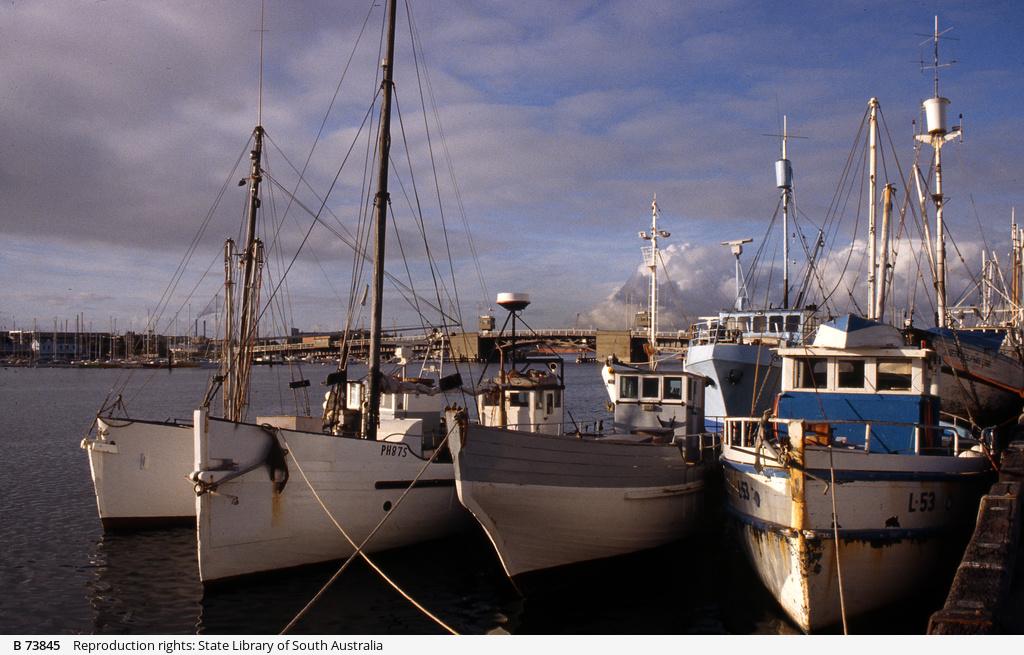 Fishing boats at Port Adelaide
