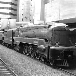 Steam Ranger at Adelaide Railway Station