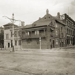 East corner of Stephens Place