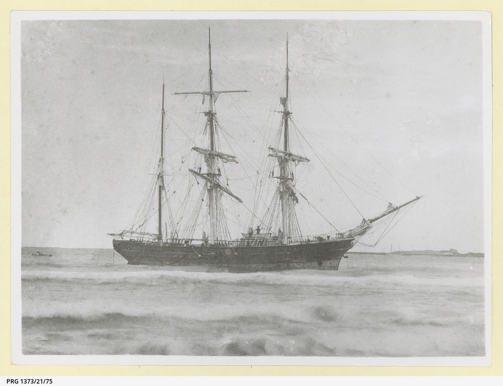 The 'Edinburgh Castle' wrecked at Warrnambool