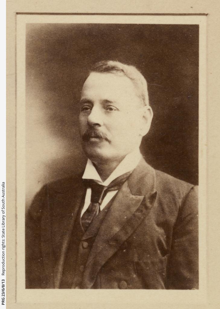Portrait of J.H. Gordon.