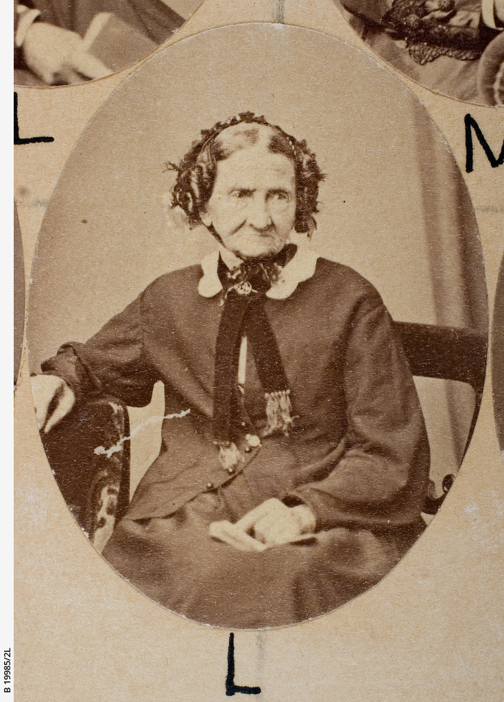 Group of [women] Old Colonists : Catherine Wisdom