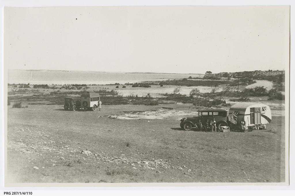 'Caravan Camp - Coorong'