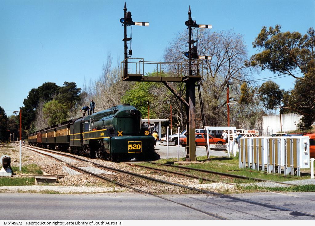 Steam Ranger at Bridgewater Railway Station
