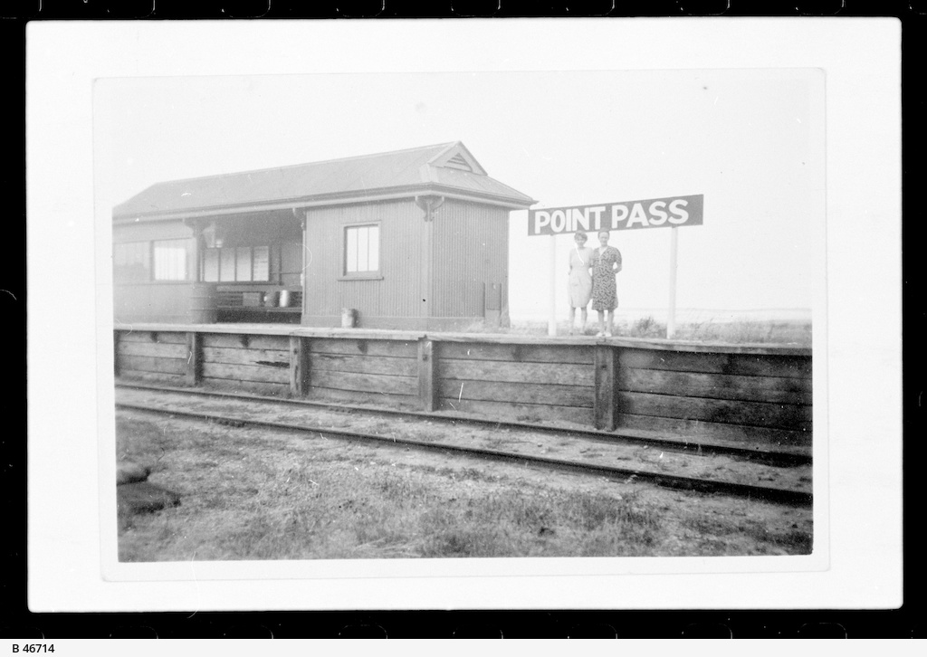 Railway Station, Point Pass