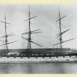 The 'British Commodore' at an unidentified port