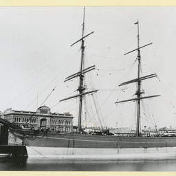 The 'Wiltshire' as 'Gwalla' at Port Adelaide