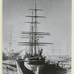 The 'Orange Grove' at an unidentified port