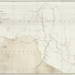 Sketch to accompany report of Surveyor General on the Snowy River Diggings [cartographic material]