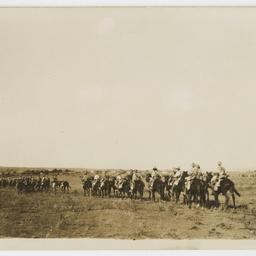 Entering Kuneitra, World War I