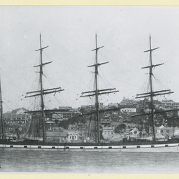 The 'Fascadale' moored in an unidentified port