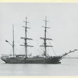The 'Star Queen' moored at Gravesend, U.K.