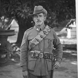 An army sergeant