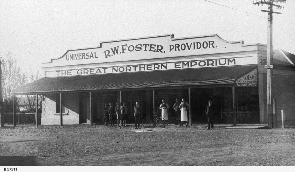 R. W. Foster's Great Northern Emporium believed to be at Quorn