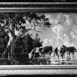 Painting of cattle