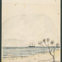 HMS 'Beagle' at Holdfast Bay