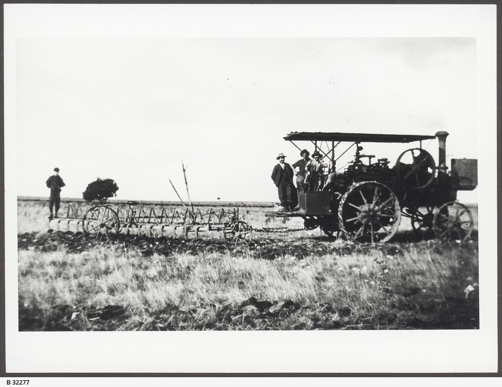 First Tractor, Point Turton