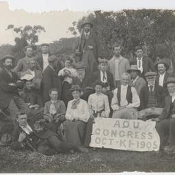 Men and women of the Australasian Ornithologists Congress, Kangaroo Island