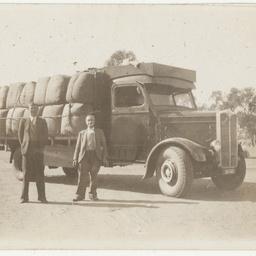 Transporting wool