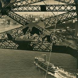 Sydney Harbour Bridge steel work