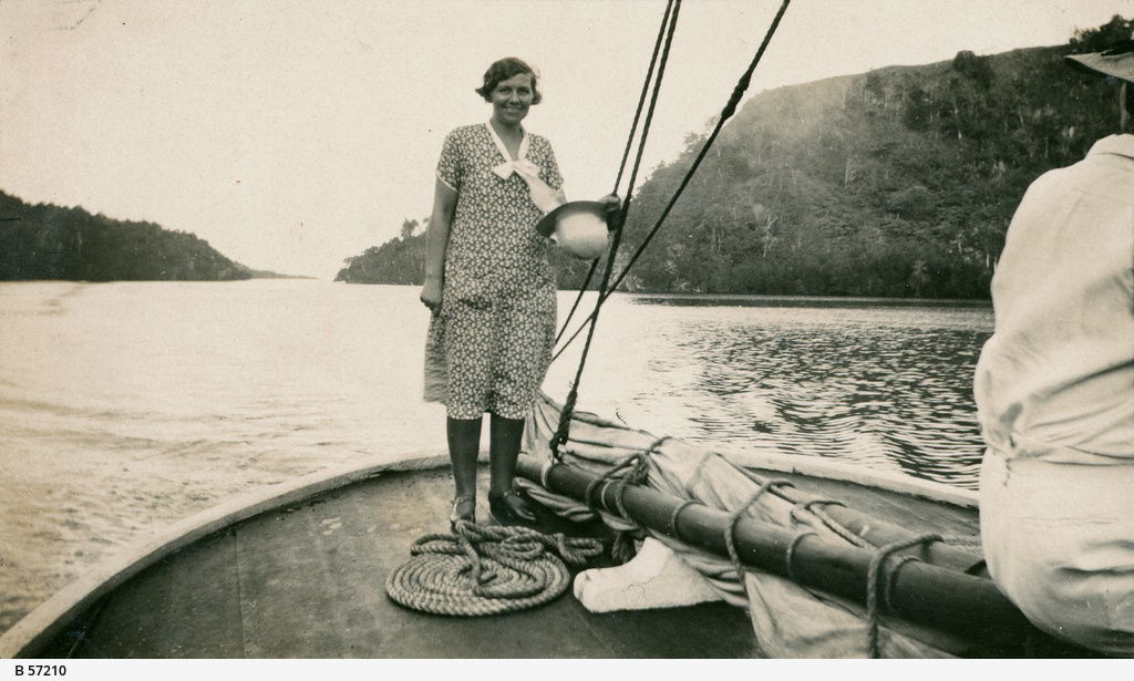 Lilla Lashmar in New Guinea