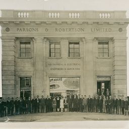 Premises of Parsons & Robertson Ltd