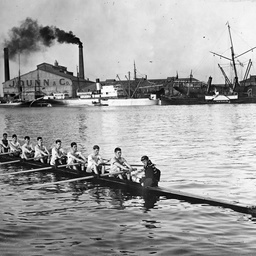 Rowing on Port River