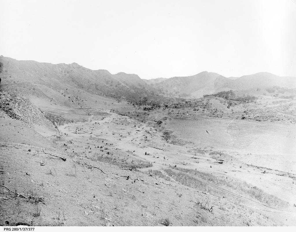 The basin of Baroota reservoir